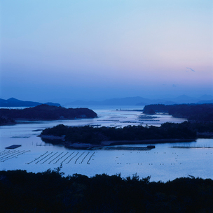英虞湾の夕景の写真素材 [FYI03356654]