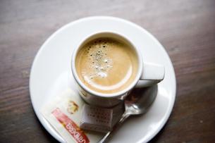 エスプレッソコーヒーの写真素材 [FYI03356730]