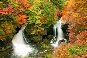 秋の竜頭の滝の写真素材 [FYI03357052]
