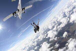 スカイダイビングの写真素材 [FYI03357157]