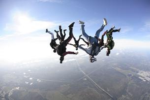 スカイダイビングの写真素材 [FYI03357158]