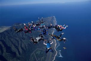 スカイダイビングの写真素材 [FYI03357197]