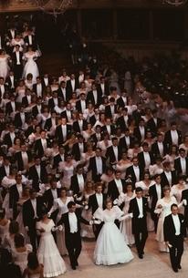 舞踏会      ウィーン オーストリアの写真素材 [FYI03357221]