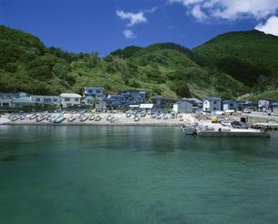 加茂漁港の写真素材 [FYI03357367]