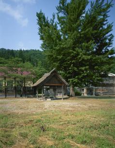 昭和村民族資料館の写真素材 [FYI03357375]