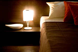 ベッドルームの写真素材 [FYI03361442]
