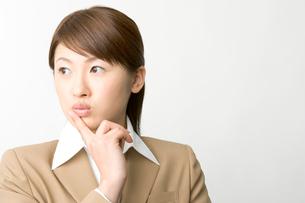 日本人ビジネスウーマンのポートレイトの写真素材 [FYI03361483]