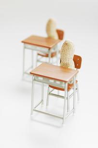 ピーナツの教室の写真素材 [FYI03361686]