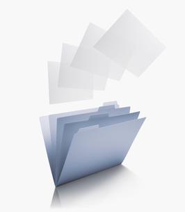 ファイルと書類の写真素材 [FYI03361718]