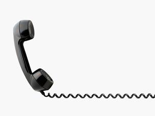 電話の受話器 レトロの写真素材 [FYI03361757]