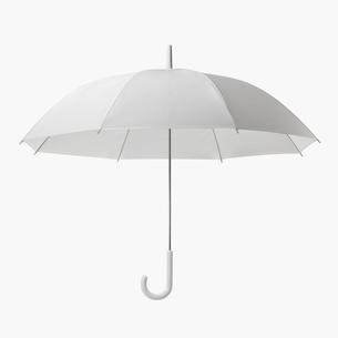 半透明のビニール傘の写真素材 [FYI03361770]