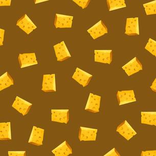 チーズのパターンのイラスト素材 [FYI03361778]