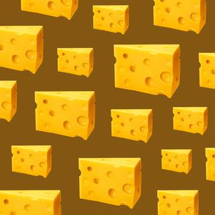 チーズのパターンのイラスト素材 [FYI03361800]