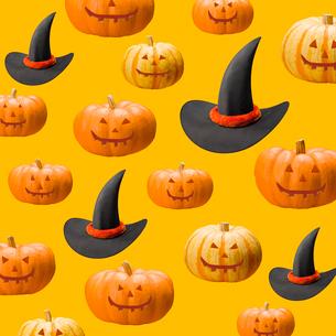 ハロウィンのパターンの写真素材 [FYI03361802]