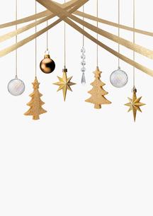 クリスマスオーナメントの写真素材 [FYI03361807]