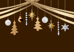 クリスマスオーナメントの写真素材 [FYI03361813]