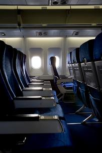 飛行機の座席の写真素材 [FYI03361924]