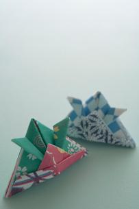 兜の折り紙の写真素材 [FYI03362290]