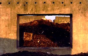 木材廃棄場の写真素材 [FYI03362796]
