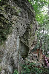 神内神社の磐座の写真素材 [FYI03363148]