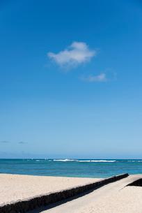 海と空の写真素材 [FYI03364497]