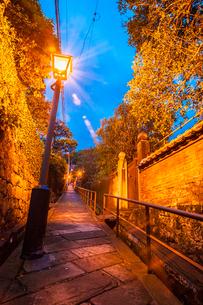 長崎のドンドン坂の写真素材 [FYI03364589]