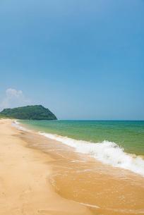 姉子の浜(鳴き砂)1の写真素材 [FYI03364635]
