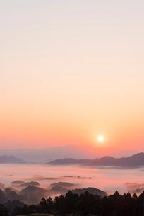 福岡 清水寺の雲海の写真素材 [FYI03364637]