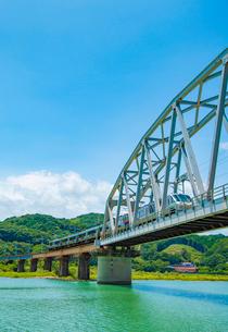 耳川鉄橋4の写真素材 [FYI03364641]