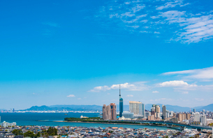 福岡市街の写真素材 [FYI03364653]