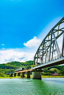 耳川鉄橋2の写真素材 [FYI03364658]