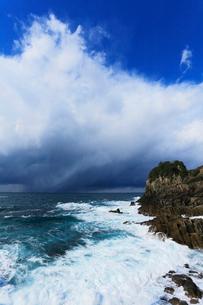 冬の日本海で発達する雲の写真素材 [FYI03364801]