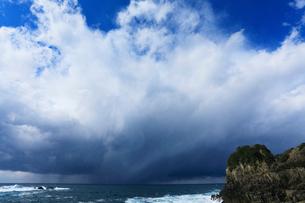 冬の日本海で発達する雲の写真素材 [FYI03364805]