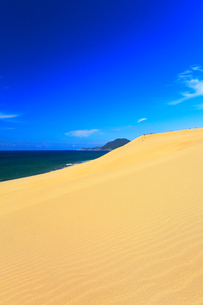 鳥取砂丘と日本海の写真素材 [FYI03364948]