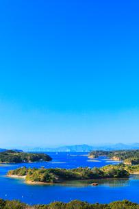 伊勢志摩・登茂山公園桐垣展望台より英虞湾の島々の写真素材 [FYI03365019]