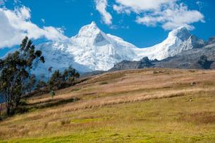 ワスカラン国立公園のワンドイ峰の写真素材 [FYI03365085]