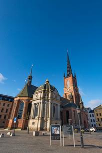 リッダーホルム教会の写真素材 [FYI03365293]