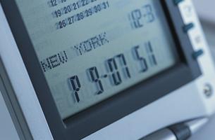 デジタル時計の写真素材 [FYI03365520]