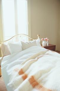 アンティーク調のベッドの写真素材 [FYI03368423]