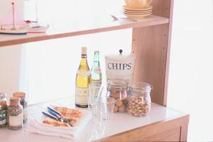 キッチンと小物の写真素材 [FYI03368986]