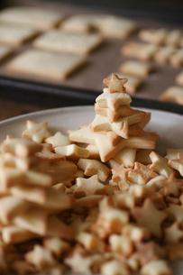沢山の星型クッキーの写真素材 [FYI03369247]