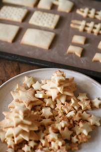沢山の星型クッキーの写真素材 [FYI03369249]