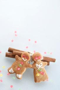 ジンジャークッキーの写真素材 [FYI03369283]