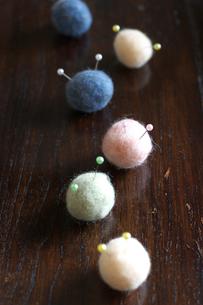 カラフルな綿の写真素材 [FYI03369291]