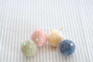 カラフルな綿の写真素材 [FYI03369293]