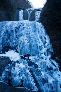 氷結した袋田の滝の写真素材 [FYI03370109]