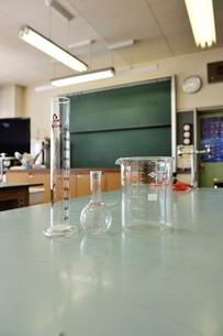 小学校の理科室の写真素材 [FYI03370187]