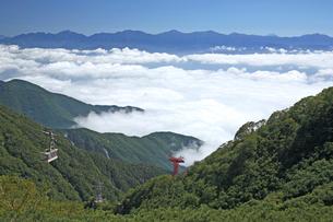 駒ヶ岳ロープウェイ 中央アルプスの写真素材 [FYI03371765]