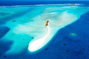 上空からのニューカレドニアの風景の写真素材 [FYI03372189]