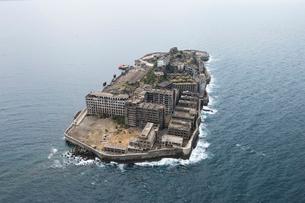 軍艦島の写真素材 [FYI03372212]